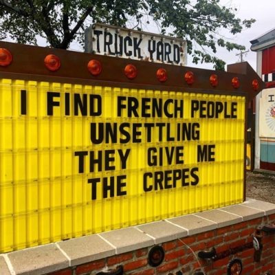 The Crepes!