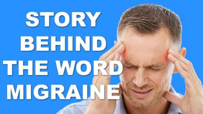 The punny story behind the word migraine