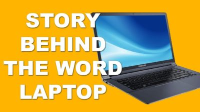 A pun about the word laptop turned into a story