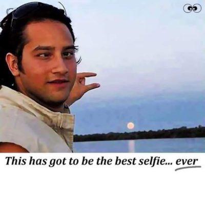 ahahahahhahhah good selfie amirite