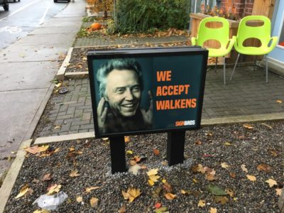Found this while I was Walken around