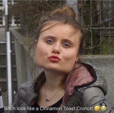 Cinnamon toast crunch 😂😭