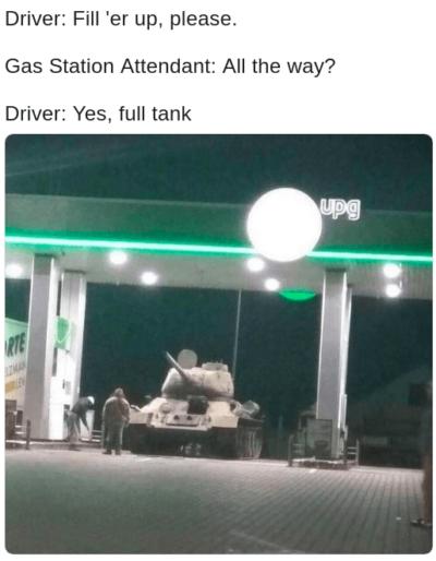 The full tank