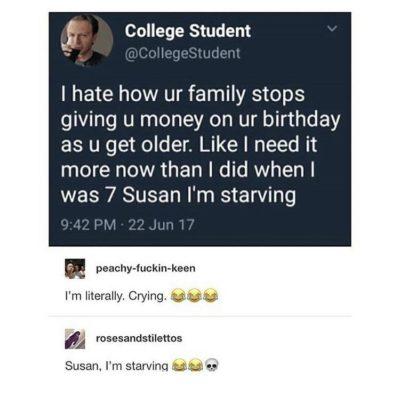 susan, i'm starving 😂😂💀