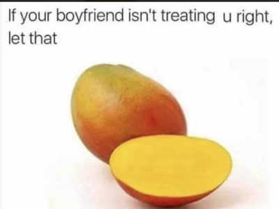 It's time to let that mango