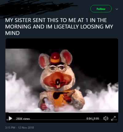 guy with furry pfp freaks out over a defunctland clip and gives no credit