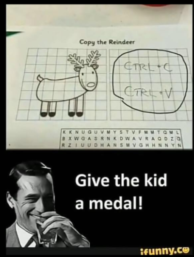 GIVE THE KID A MEDAL!!