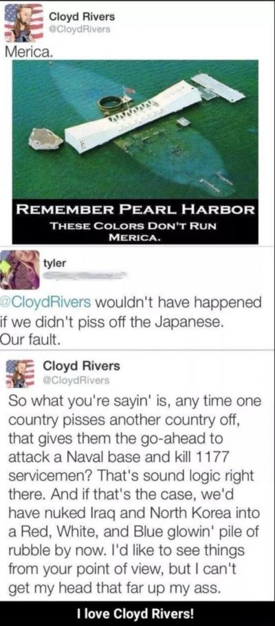 I love Cloyd Rivers!