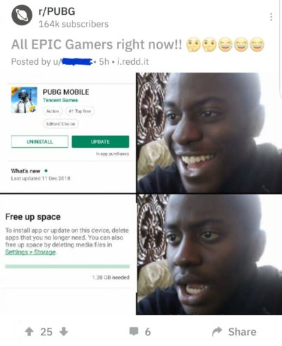 All EPIC GAMERS can relate 😁😂🤣🤔🤔😜💪👊