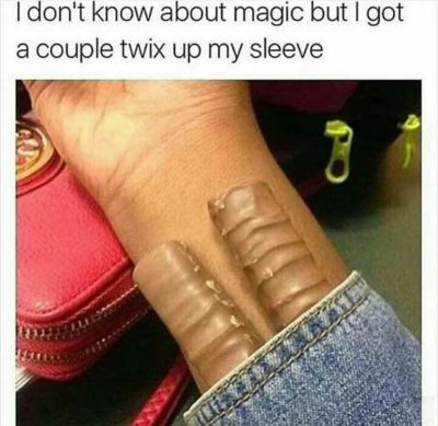 I don't know about magic