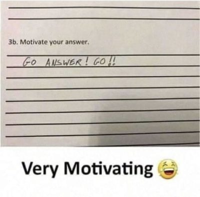 very motivation😂😂😂👌