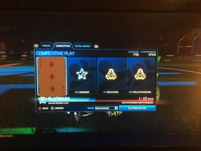 Quality Rocket League pun