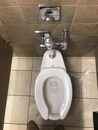 It really pisses me off how this toilet is slightly off center