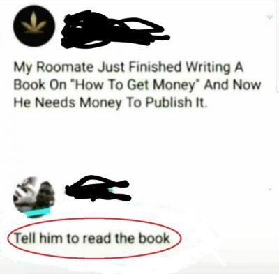To write a book