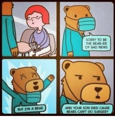 Bad news bear