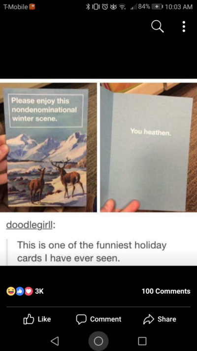 Funniest card ever.