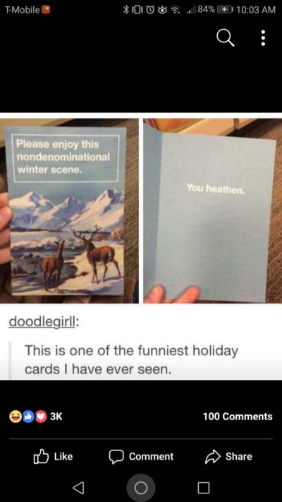 Funniest card ever.