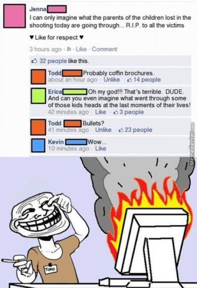Troll faces make memes better