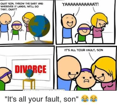 it's all your fault, son 😂😂
