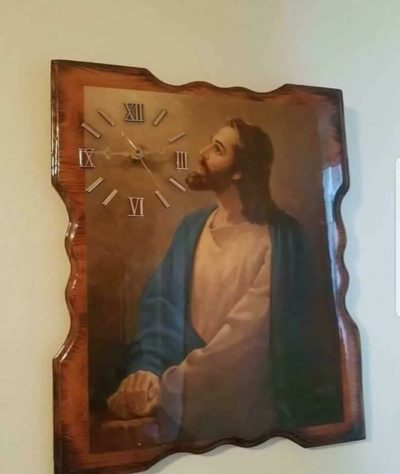Jesus Christ, would you look at the time?