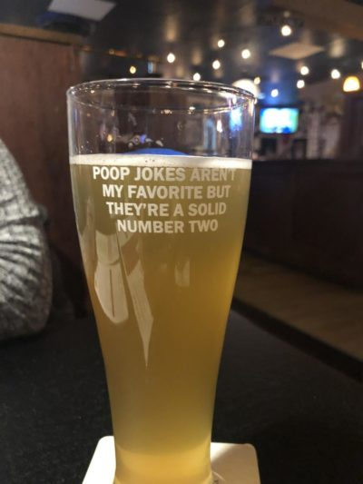 This beer pun