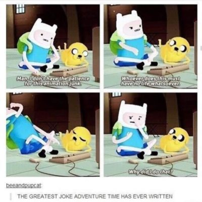 ThIs Is ThE gReAtEsT jOkE In AdVeNtUrE tImE