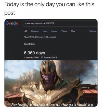 DAE like on a different day??!1!