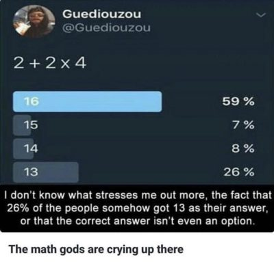 The math gods