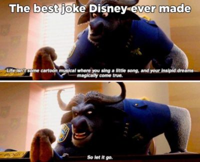 The best joke Disney made