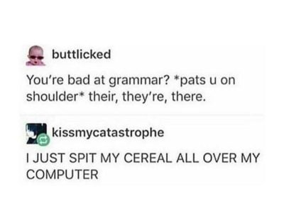I spilled cereal over my computer and electrocuted my entire family 😎😂