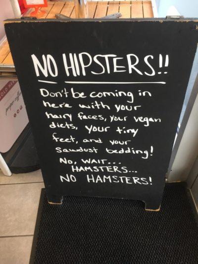 No Hamsters…