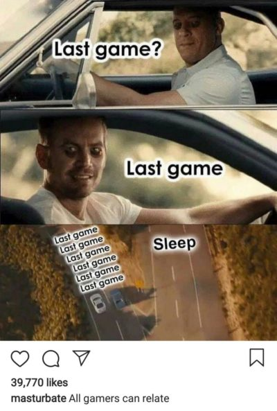 All gamers can relate