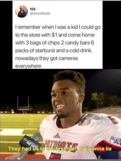 This football player meme's entire job is to ruin a joke's timing. I'm surprised that it's still being used.