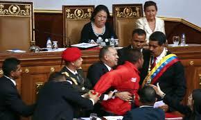 Venezuela's President Caught.