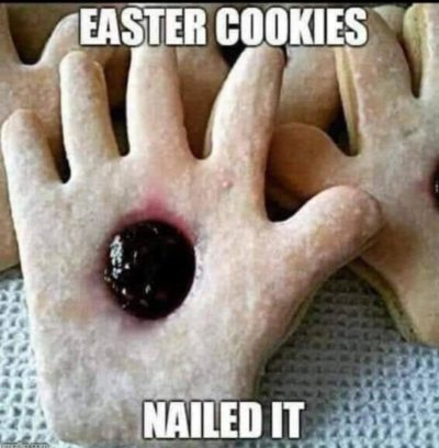 Easter cookies are delicious