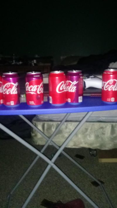 Its a line of coke