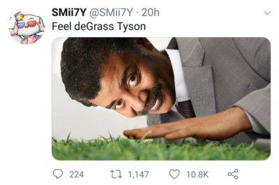 Neil degrass tyson alter ego