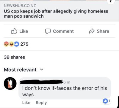 It wasn't his first such offence.