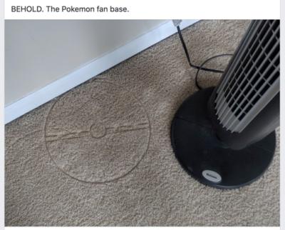 BEHOLD! The Pokémon Fan Base!