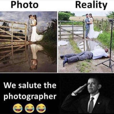 We salute the photographer 😂😂😂