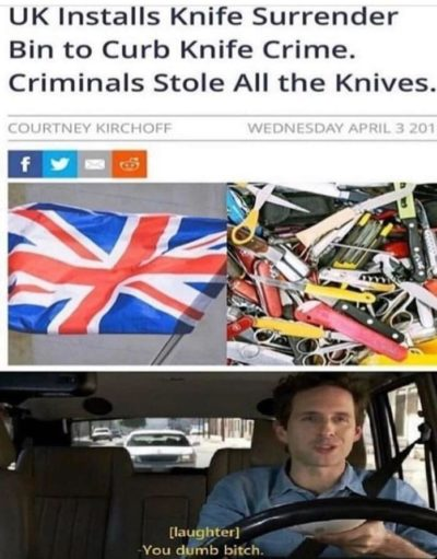 They're so silly those brits