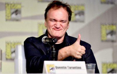 Squintin Tarantino.