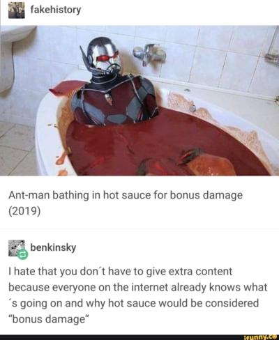 Ant-man gets Ready (circa 2019)
