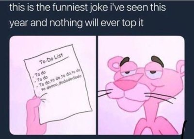 Nothing can ever top this joke