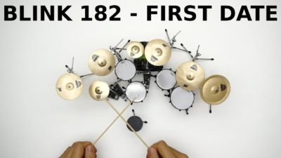 🍺Miniature Drums Cover🍺Blink 182- FIRST DATE