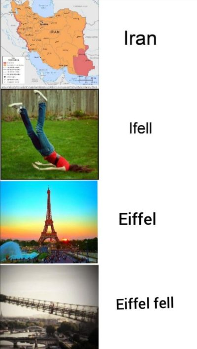 I came, I saw, Eiffel