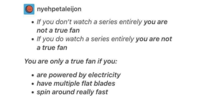 Are you a true fan?