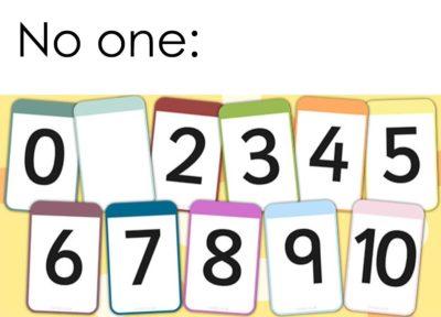 No one: