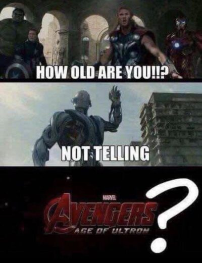 Hmm how old is he