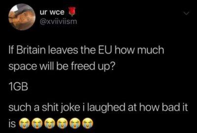 Brexit Pun